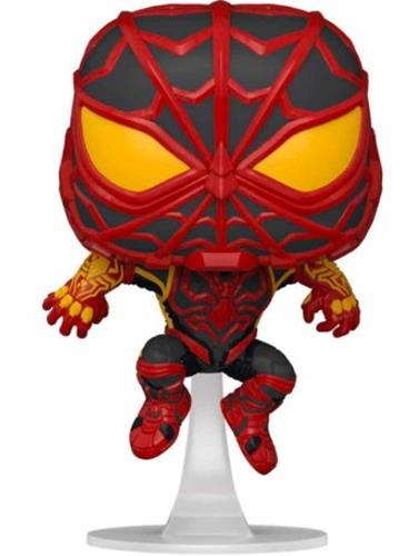Funko Pop! Marvel Miles Morales (S.T.R.I.K.E. Suit) Icon