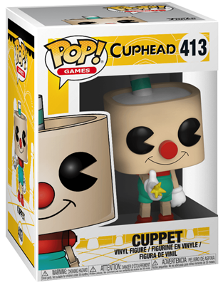 Funko Pop! Games Cuppet Stock