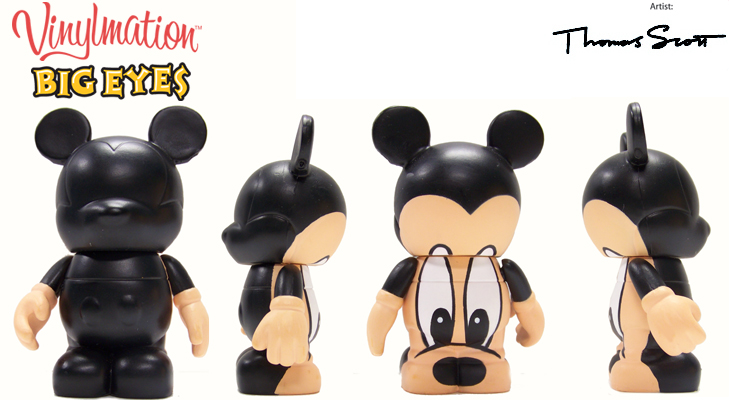 Vinylmation Open And Misc Big Eyes Mickey Mouse