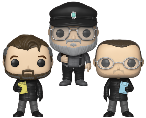 Funko Pop! Game of Thrones The Creators (3-Pack)