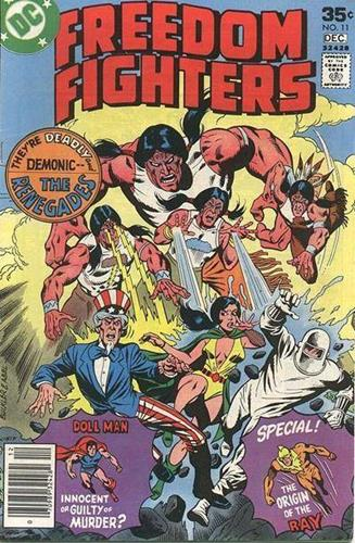 DC Comics Freedom Fighters (1976) Freedom Fighters (1976) #11 Stock
