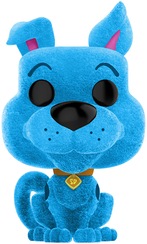 Funko Pop! Animation Scooby-Doo (Flocked) - Blue