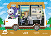 Amiibo Cards Welcome amiibo Cleo