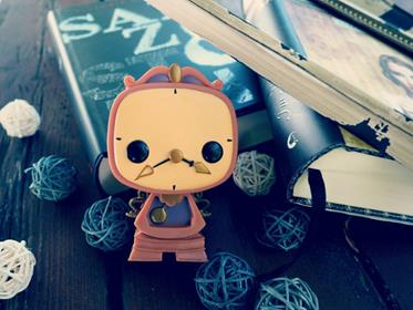 Funko Pop! Disney Cogsworth sevenandstories on tumblr.com