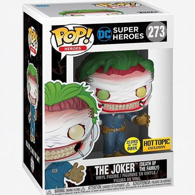 Funko Pop! Heroes The Joker (Death of the Family) (Glows in the Dark) Stock