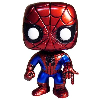Funko Pop! Marvel Spider-Man (Metallic)