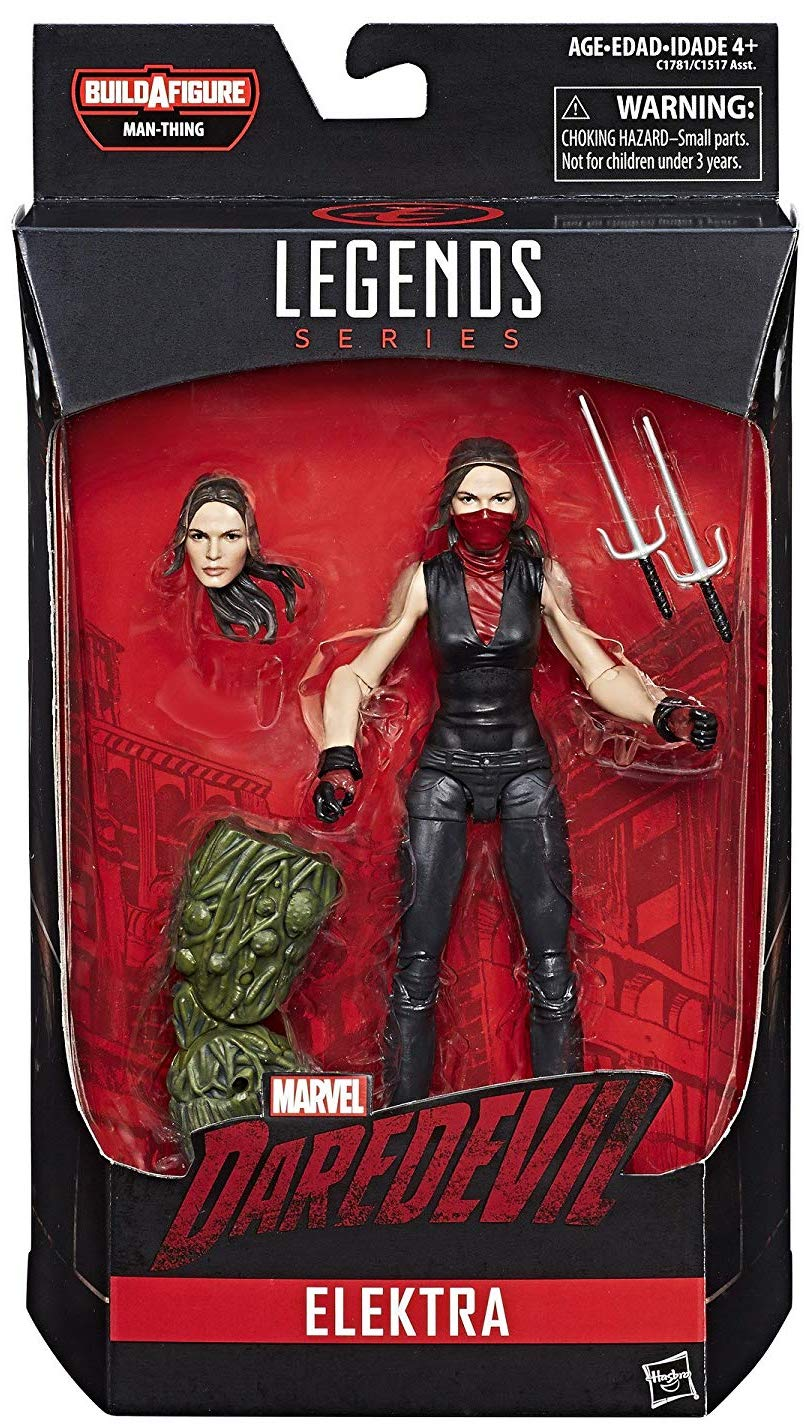Marvel Legends Man-Thing Series Elektra Icon