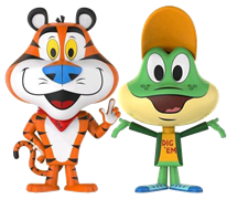 Vynl All Tony the Tiger + Dig Em' Frog