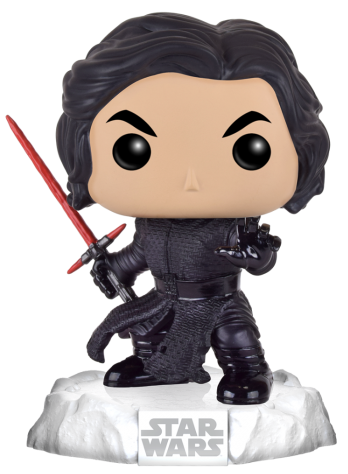 Funko Pop! Star Wars Kylo Ren (Snow Base)