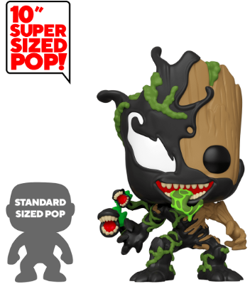 Funko Pop! Marvel Venomized Groot (10 inch)