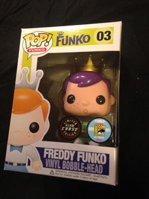 Funko Pop! Freddy Funko Buzz Lightyear (Glow in the Dark)