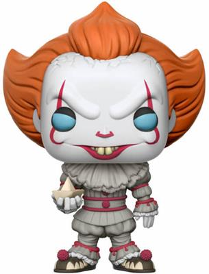 Funko Pop! Movies Pennywise (w/ Boat) - Blue Eyes Icon