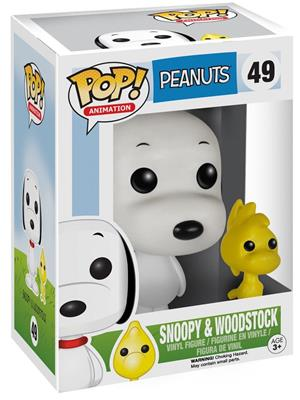 Funko Pop! Animation Snoopy & Woodstock Stock