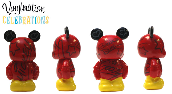 Vinylmation Open And Misc Celebrations Jr Character Autographs