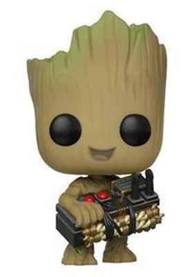 Funko Pop! Marvel Groot (w/ Bomb) Icon