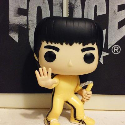 Funko Pop! Movies Bruce Lee (Game of Death) (1000wordseachpicture on instagram.com