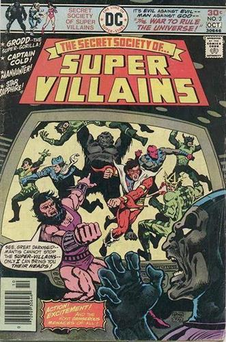 DC Comics Secret Society of Super-Villains (1976 - 1978) Secret Society of Super-Villains (1976) #3 Icon