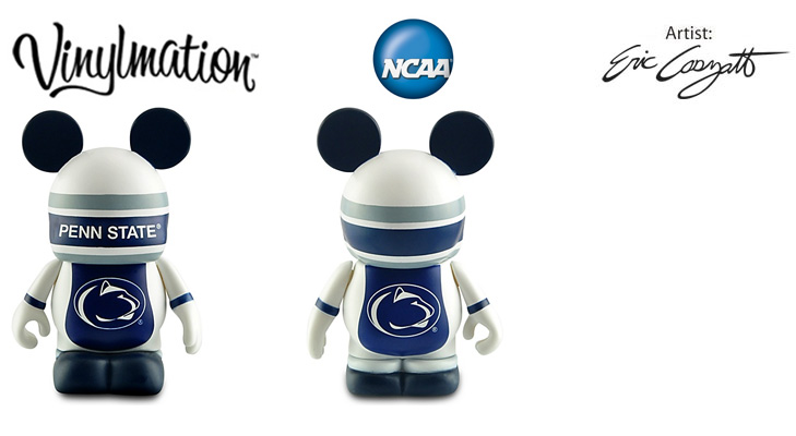 Vinylmation Open And Misc College Penn St. Nittany Lions