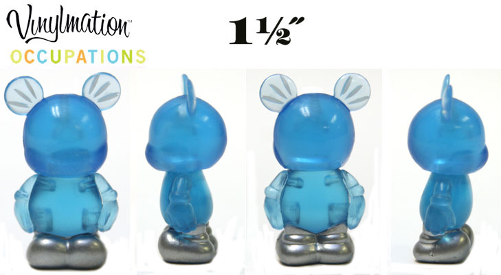 Vinylmation Open And Misc Occupations Jr. Blue Light