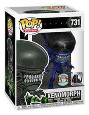 Funko POP Aliens 40th Blue Metallic Xenomorph Specialty Series #731 Movies