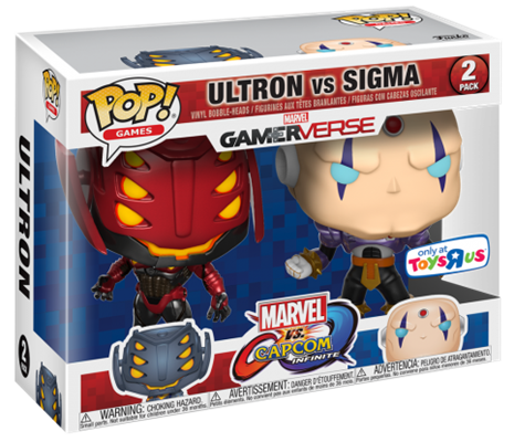 Funko Pop! Games Ultron v. Sigma (V2) Stock