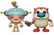 Funko Pop! Animation Happy, Happy, Joy, Joy Ren & Stimpy (2 Pack)