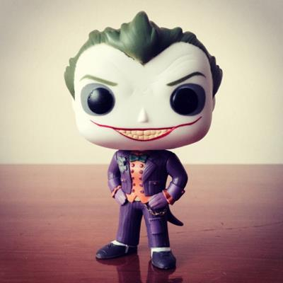 Funko Pop! Heroes The Joker (Arkham Asylum) (plasticandcelluloid on tumblr.com