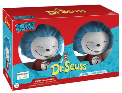 Dorbz Dr. Seuss Thing 1 & Thing 2 (Flocked) Stock