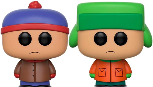 Funko Pop! South Park Stan & Kyle Icon