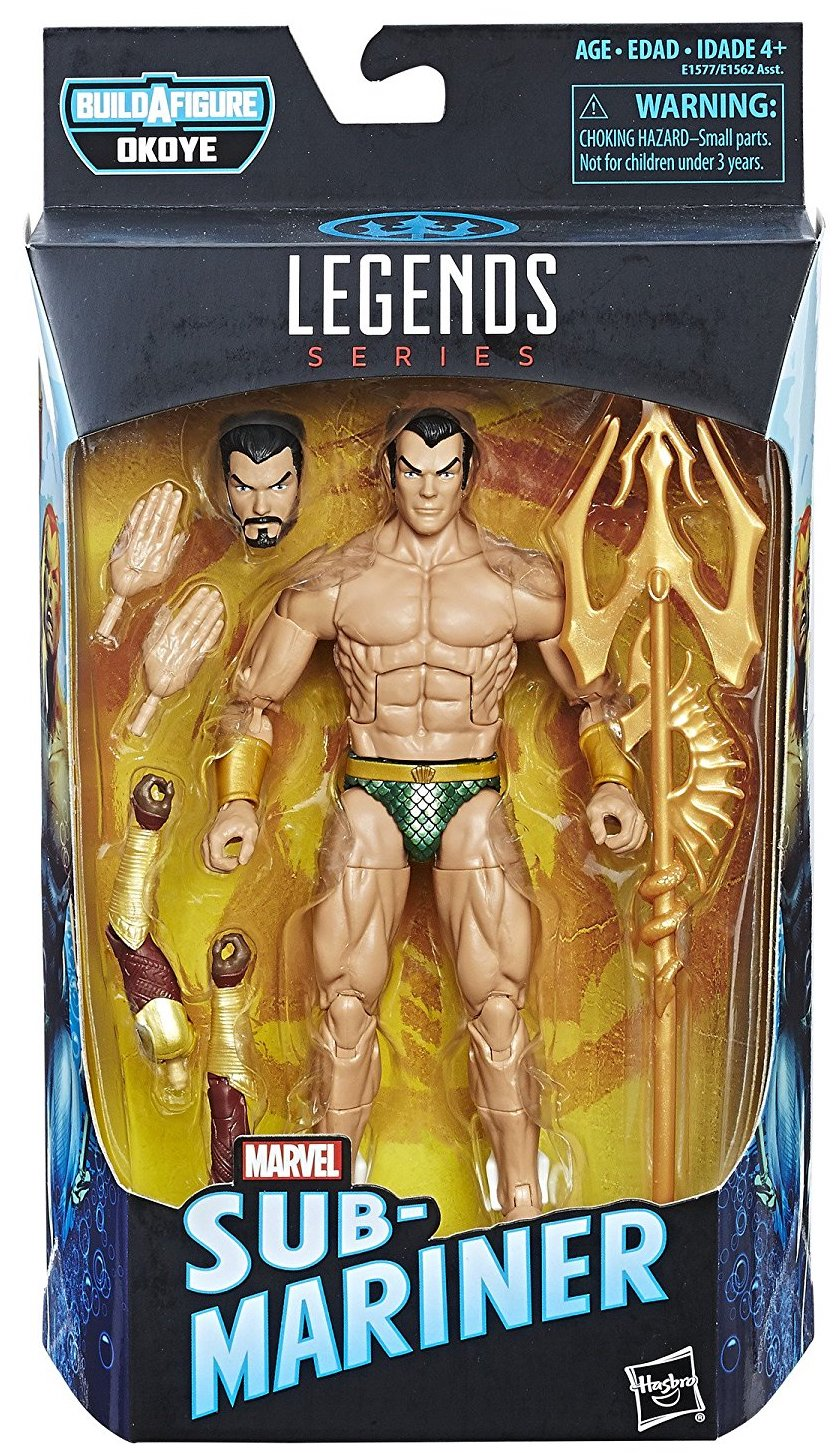 Marvel Legends Okoye Sub-Mariner