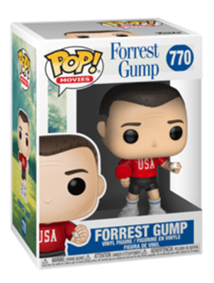 Funko Pop! Movies Forrest Gump (Ping Pong Outfit) Stock Thumb