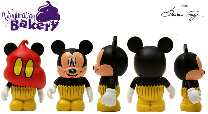Vinylmation Open And Misc Bakery Mickey Cupcake