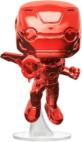 Funko Pop! Marvel Iron Man (Chrome Red) Icon