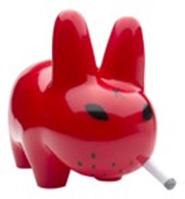 Kid Robot Labbits Lustre Gloss Red