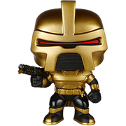 Funko Pop! Television Cylon Commander (70's) - Gold