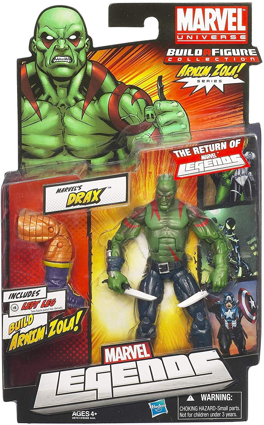 Marvel Legends Arnim Zola Series Drax