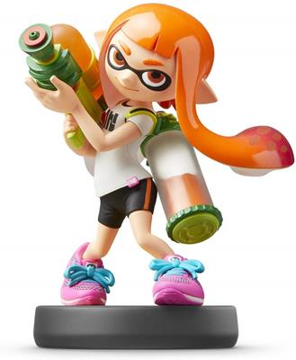 Amiibo Super Smash Bros. Inkling Girl Icon