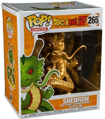 "Funko Pop! Animation Shenron (Gold) - 6"" Stock"