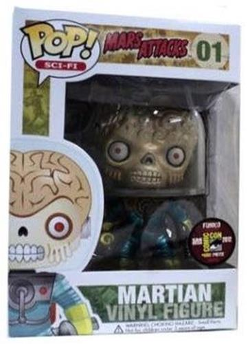 Funko Pop! Sci-Fi Martian (Metallic) Stock Thumb