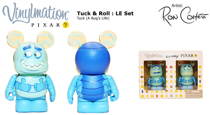 Vinylmation Open And Misc Tuck / Roll Tuck