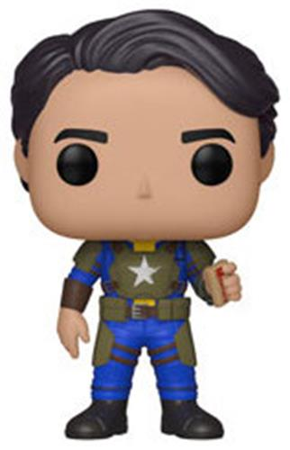 Funko Pop! Games Vault Dweller (Male) - w/ Mentats