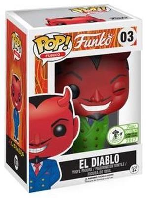 Funko Pop! Funko El Diablo (Green Suit) Stock