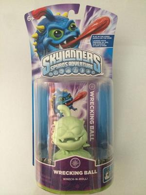 Skylanders Spyro's Adventures Wrecking Ball (Glow in the Dark) Stock