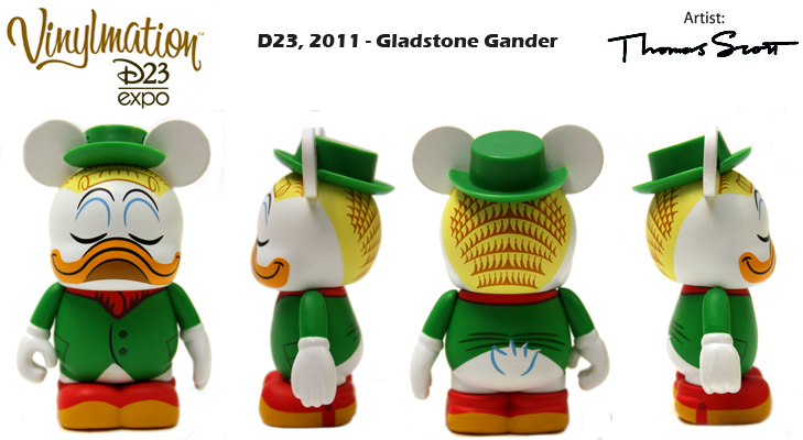 Vinylmation Open And Misc D23 D23 Expo Gladstone Gander