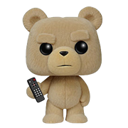 Funko Pop! Movies Ted (Remote) (Flocked)