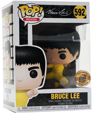 Funko Pop! Movies Bruce Lee (Game of Death) - Fighting Stock