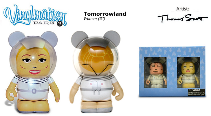 Vinylmation Open And Misc Park 9 Woman