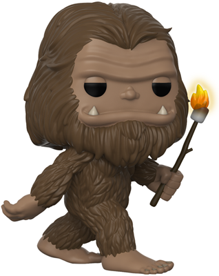 Funko Pop! Myths Bigfoot (Marshmallow Glow)