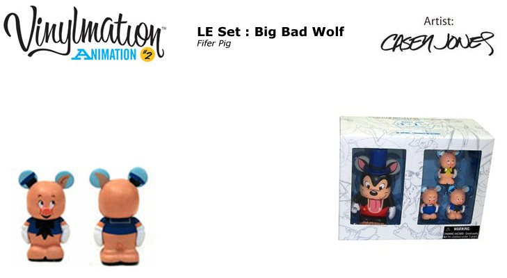 Vinylmation Open And Misc Animation 2 Fifer Pig