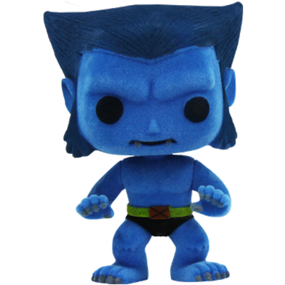 Funko Pop! Marvel Beast (Flocked) Icon